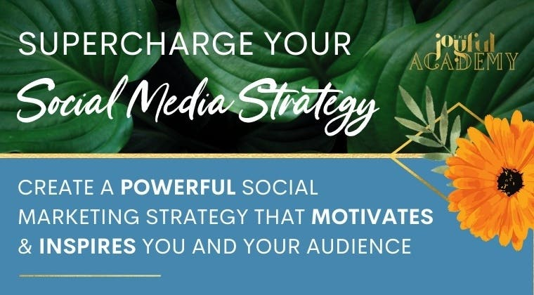 Supercharge your social media course