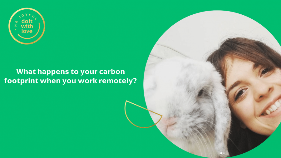 What happens to your carbon footprint when you work remotely_
